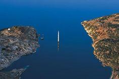 Birecik Barajı suları altında,Halfeti-Şanlıurfa.