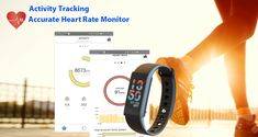 All-in-one Waterproof Color Display Fitness Activity Tracker Smart Watch for iOS/Android Smartphone. Waterproof Fitness Tracker, Fitness Activity Tracker, Android Smartphone, Smart Watch, All In One, Monitor, Display, Activities, Color