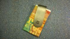 beyforart: Geschenkidee für Weihnachten:Geldklammer individue...  Gift idea for Christmas: Money Clip individually designed in titanium with silver