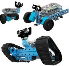 Makeblock 90092 mBot Ranger - Transformable STEM Educational Robot Kit, Blue in Science. Robot Kits, Diy Robot, Bluetooth, Linux, Nasa, Real Spy, Mobile Robot, Educational Robots, Ipad