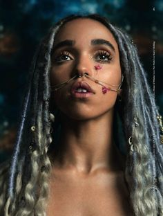 FKA twigs for Dazed's 25th Anniversary Issue   Photography Ryan McGinley