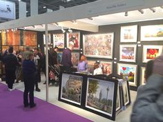Wyecliffe Galleries at Grand Designs Live exhibition 2015.