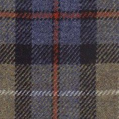 mackenzie check harris tweed