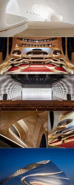 В Харбине построили оперный театр в форме синусоиды