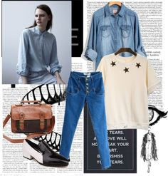 """Denim"" by chicnova on Polyvore"