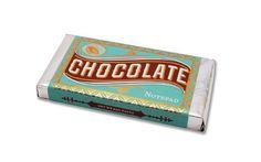 Chocolate notepad - chronicle books - 9781452109053