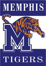 "Memphis Tigers Double-Sided 28""x40"" Banner"