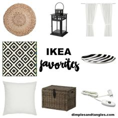 What to buy at Ikea  ||  Favorite Ikea Products  ||  Dimples and Tangles