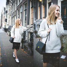 Sweater, Skirt, Bag, Sammy Dress Shoes