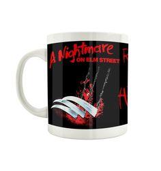 Mug Freddy Krueger - Here i Come – Tsilemewa Freddy Krueger, Micro Onde, Elm Street, Officiel, Mugs, Clowns, Tableware, Boutique, Horror Makeup