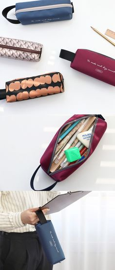 Coin Purses Methodical Flowers Student Pencil Case Purse Children Pouch Case Storage Box Makeup Bag Cosmetic Wash Case 4 Colors