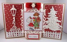 Suzie's Card Den: Another Christmas card and My Radiator