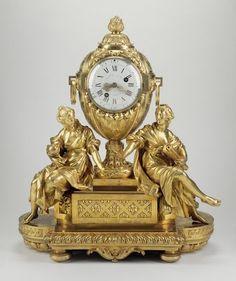 Mantel clock,French, ca.1772
