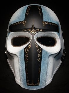 I found 'Knights Templar ~ Airsoft & Paintball Full Face Masks' on Wish, check it out! Airsoft Full Face Mask, Airsoft Helmet, Full Face Helmets, Army Of Two, Mascaras Halloween, Paintball Gear, Helmet Armor, Tac Gear, Cool Masks