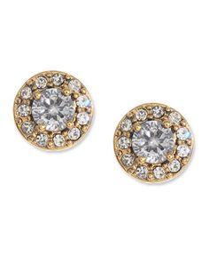 Betsey Johnson Crystal Encrusted Stud Earrings #IDoBetseyBlue #Sponsored