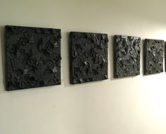 1960s ceramic relief tiles attributted to Oddo  Alleventi reclaimed from the Bullring development Birmingham