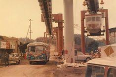 写真: 湘南モノレール Showa Period, Showa Era, Old Photos, Vintage Photos, Japan Train, Japan Landscape, Japanese History, Rail Car, Old Photography