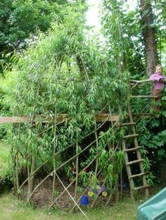 willow dens!!! so doing this as a playhouse for the kids...easy peasy!
