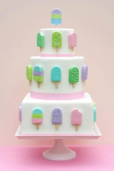 icecream party cake