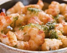 Roasted Shrimp with Garlic Oil Olive Nation Prawn Recipes, Seafood Recipes, Mexican Food Recipes, Ethnic Recipes, Shrimp In Garlic Sauce, Roasted Shrimp, Fried Shrimp, Garlic Prawns, Cooking Dishes