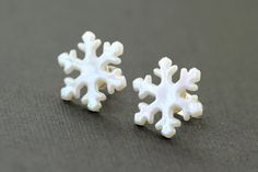 Snowflake Earrings <3