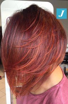 La leggerezza del Taglio Punte Aria e un Degradé Joelle Red Touch #cdj #degradejoelle #tagliopuntearia #degradé #igers #musthave #hair #hairstyle #haircolour #longhair #ootd #hairfashion #madeinitaly #wellastudionyc