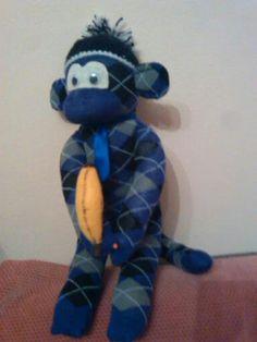 Moj ručni rad- Nanna Lutkice majmuncic sa bananom