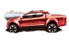 Chevrolet S10 High Country Concept - Design Sketch-02