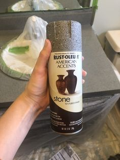 DIY Spray Paint Countertops - A Girl and a Kiwi DIY Spray Paint Countertops with Rustoluem Spray Pain- A Girl and a Kiwi Handwerk nach Hause