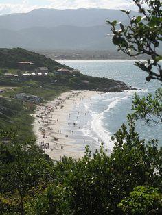 Beach - Praia de Cima - Pinheira - Santa Catarina - Brazil