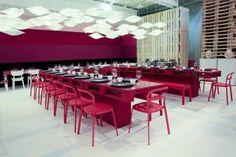 Sala Vip de la última edición de ARCO Madrid. Brillante colaboración IKEA y Teresa Sapey