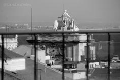 Lisboa Arco Rua Augusta e o Tejo