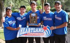 StMU Men's Golf win the Heartland Conference title for 1st time in 8 years!