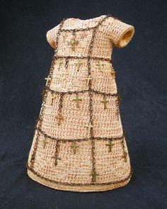#crochet art dress