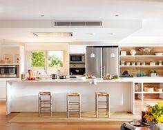 Diy Kitchen islands Plans Best Of Architectures Inspiring Oversized Kitchen island Plans Cuisines Diy, Cuisines Design, Diy Kitchen Island, Open Kitchen, Kitchen Cabinetry, Kitchen Flooring, Kitchen Design, Kitchen Decor, Casa Loft