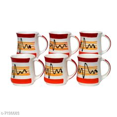 Cups, Mugs & Saucers