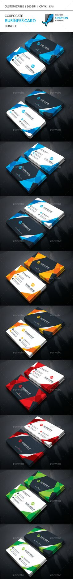 Corporate Business Card Template PSD Bundle. Download here: http://graphicriver.net/item/corporate-business-card-bundle/15765021?ref=ksioks