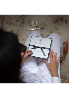 Zestaw prezentowy Premium od Franceschi Chocolate - neapolitanki z ziaren kakao drogocennej odmiany Criollo.