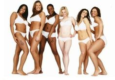 Dove women.  Healthy and beautiful!
