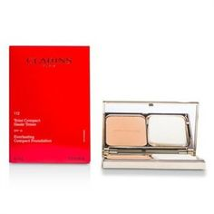 Clarins Everlasting Compact Foundation SPF 15 - # 112 Amber 10g/0.35oz Make Up