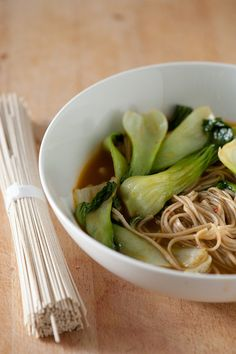 soba noodle soup by jules:stonesoup, via Flickr