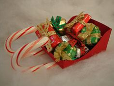 Christmas Craft Ages 4 and up - Candy Cane Sleigh