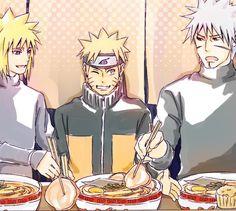 Naruto// Tobirama Senju, Minato and Naruto Sasunaru, Anime Naruto, Naruto Shippuden, Old Friends, Princess Zelda, Community, Manga, Fictional Characters, Artists