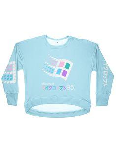 candy 95 women's drop shoulder sweatshirt 2xl