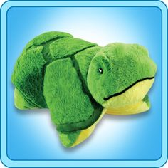 A super-soft chenille plush folding stuffed animal. So cuddly you'll never want to put it down! Starts out as your pal, then un-velcro its belly, and it quickly becomes your pillow. Pillow Pets, I Like Beer, Buy Pillows, Sewing Pillows, Pet Turtle, Animal Jam, Animal Pillows, Perfect Pillow, Turtles