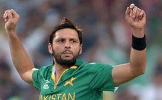 Pakistan cricket captain Shahid Afridi thanks Kashmiri fans for support