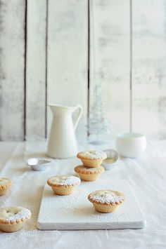 Mince Pies. Never had one before....but they LOOK yummy. :-)