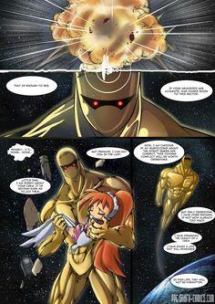 PowerPuff girls Doujinsh the forgotten page 8 by bleedman SNAFU comics