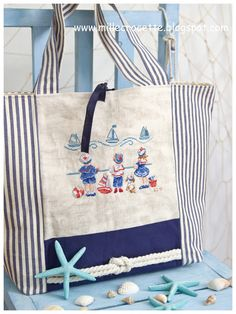 cross-stitch and fantasy: bag Embroidery Purse, Cross Stitch Embroidery, Crochet Beach Bags, Linen Bag, Denim Bag, Fabric Bags, Quilted Bag, Kids Bags, Tote Bag