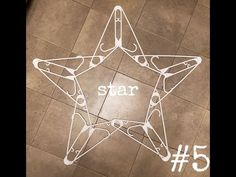 star decorations make with hangers ( snowflake ) idea Christmas Stocking Hangers, Diy Christmas Ornaments, Christmas Art, Christmas Projects, Handmade Christmas, Holiday Crafts, Christmas Ideas, Upcycled Crafts, Hanger Crafts